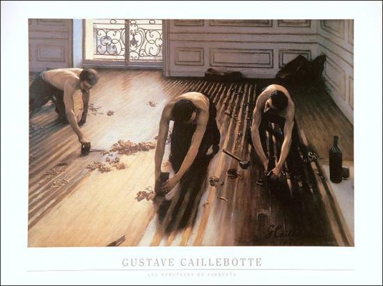 Gustave Caillebote  - Les raboteurs de parquets -