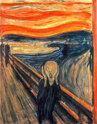 Edvard Munch  - Le  Cri -