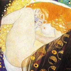 Gustave Klimt  - Danaé -