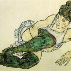 Egon Schiele  - Le Rêve -