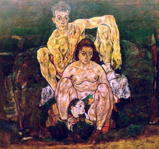 Egon Schiele  - Portraits -