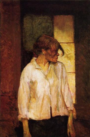 Henri de Toulouse Lautrec  - Rosa la rouge -