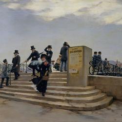Jean Béraud - Le Pont des Arts -