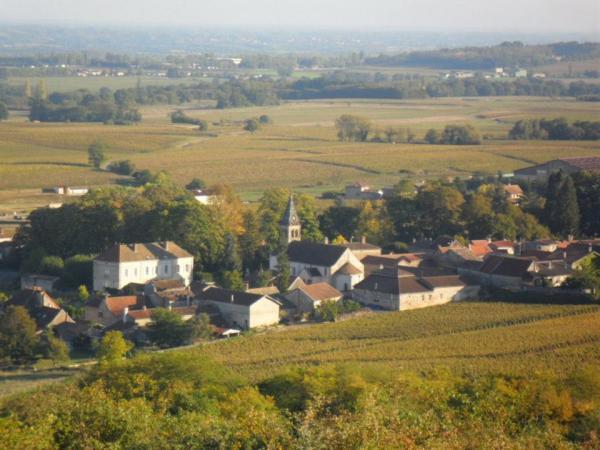 Mon village - avec vue sur La Plaine de Saône