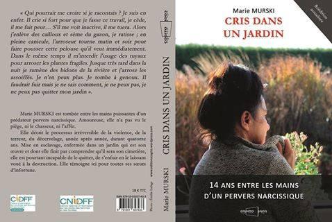 Marie murski cris dans un jardin septembre 2015 editions cogito 3eme reedition